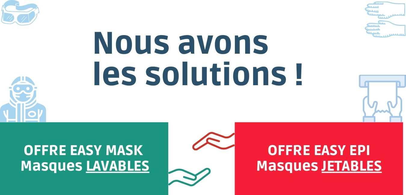 Nous avons les solutions pour vous !