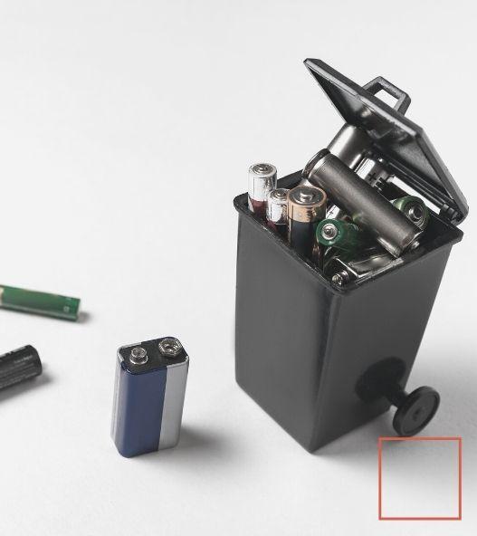 Piles - déchets de consommables bureau