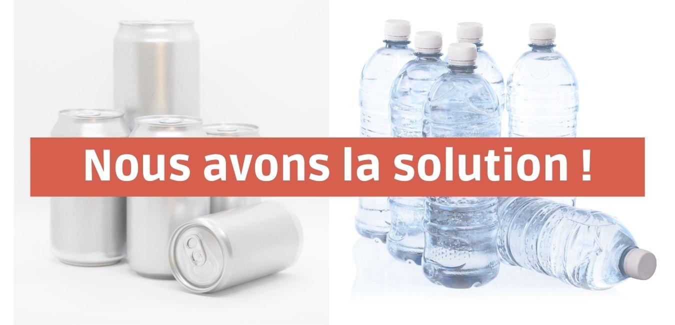 Solution pour vos déchets de consommation courante