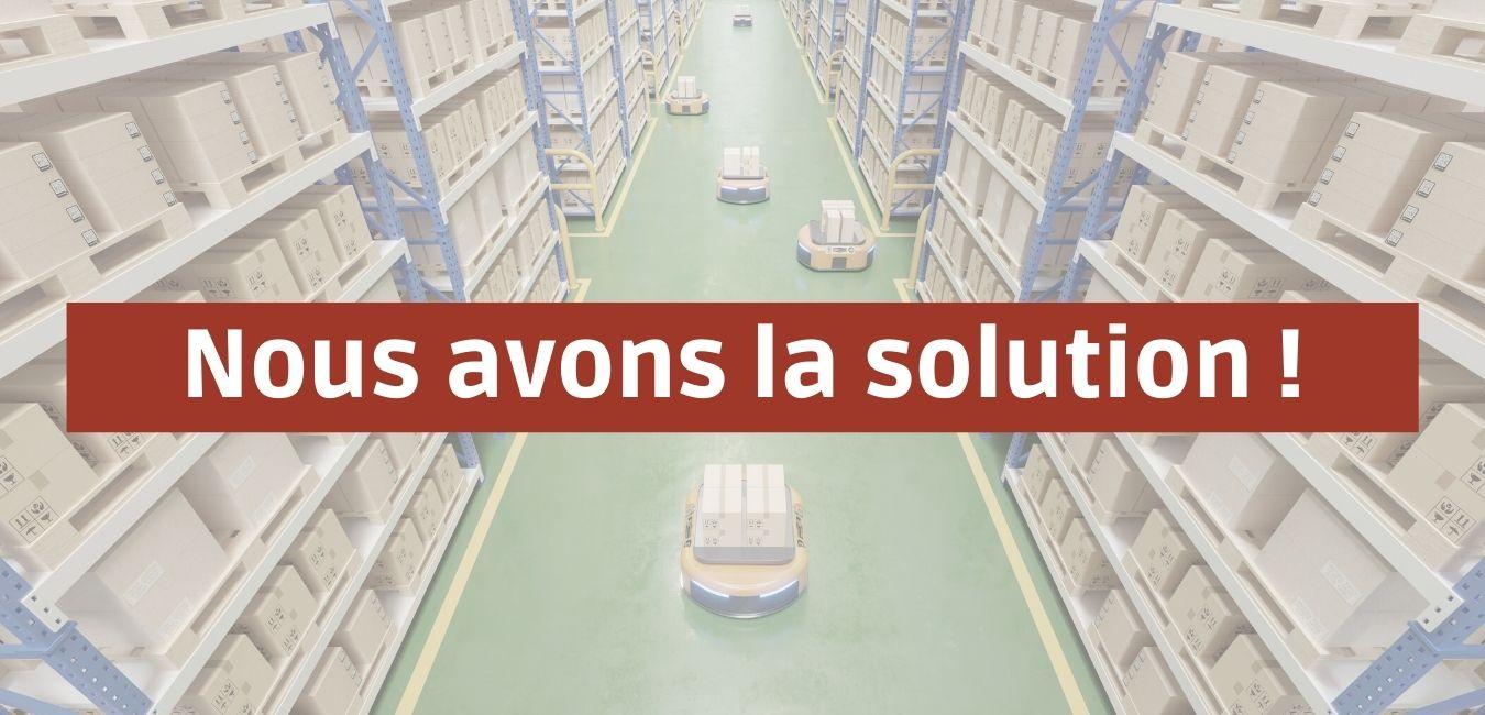 Solution pour vos déchets d'industrie et logistique