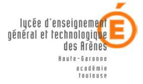 Lycée des arènes - TOULOUSE
