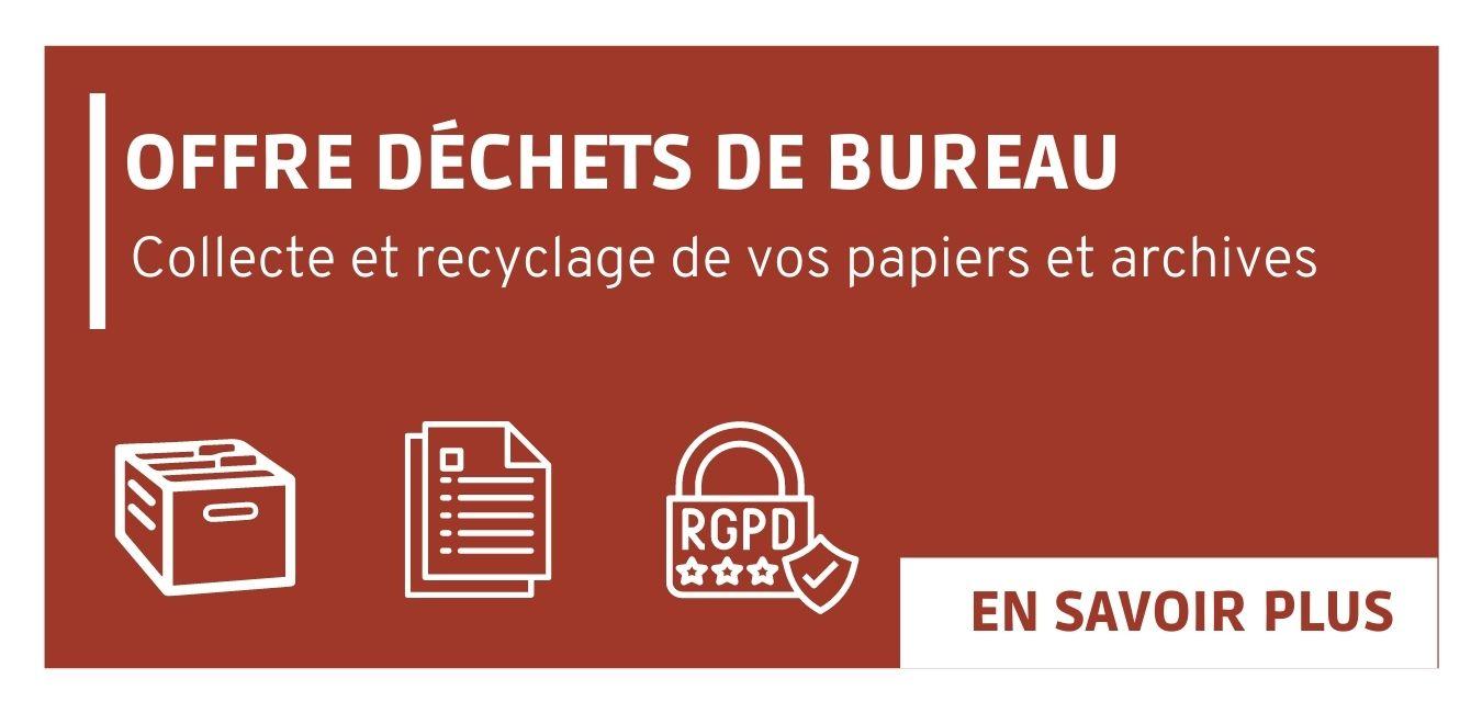 Offre pour la gestion de vos déchets de bureau