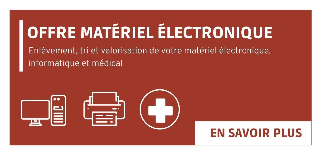 Offre pour la gestion de votre matériel électronique